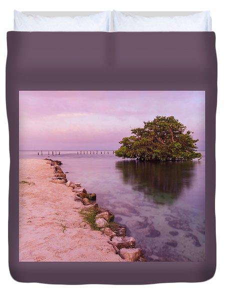 Mayan Sea Reflection 2 Duvet Cover