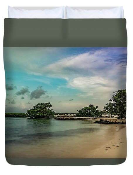 Mayan Shore 2 Duvet Cover