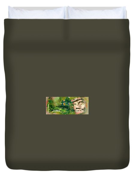 Mayan World Duvet Cover