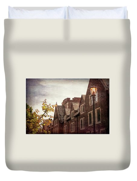 Mayslake Historic Home Duvet Cover