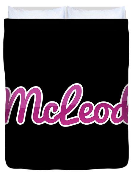 Mcleod #mcleod Duvet Cover