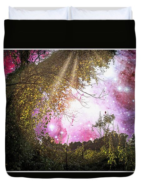 Meadow Starry Night Duvet Cover