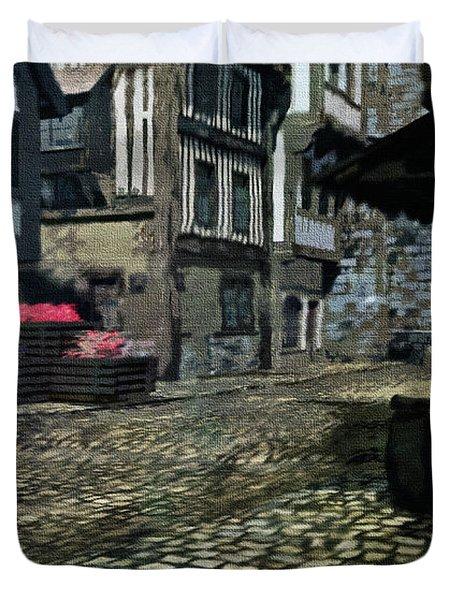 Medieval Times Duvet Cover