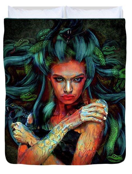 Medusa 0063 Duvet Cover