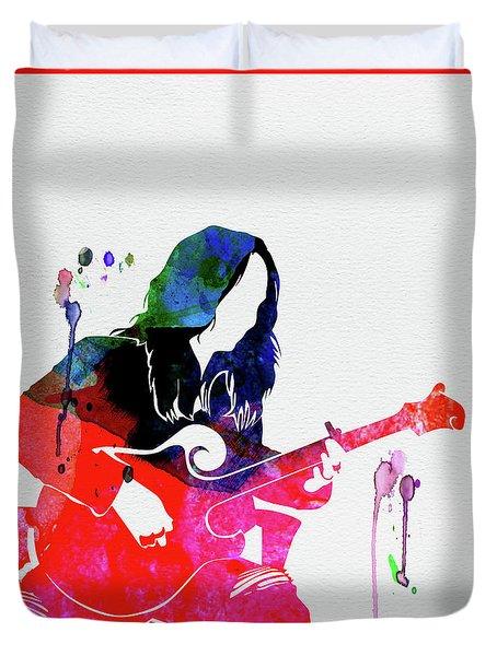 Melissa Watercolor Duvet Cover