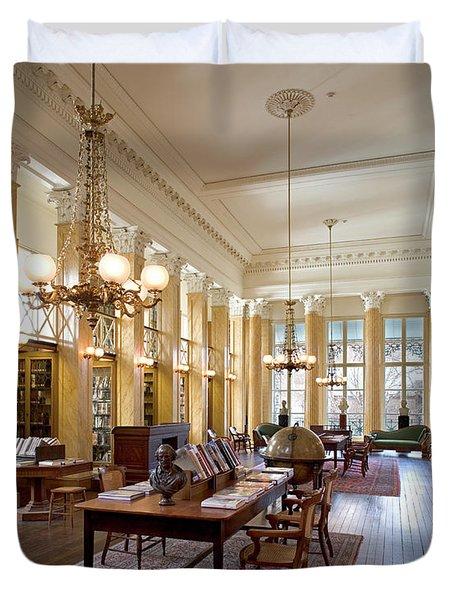Members' Reading Room Duvet Cover