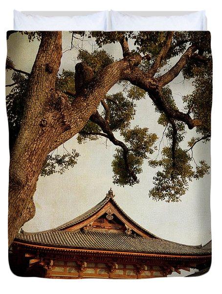 Memories Of Japan 3 Duvet Cover
