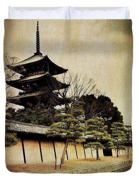 Memories Of Japan 4 Duvet Cover