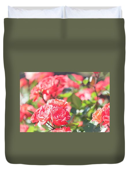 Duvet Cover featuring the photograph Memories Of Spring by Alex Lapidus