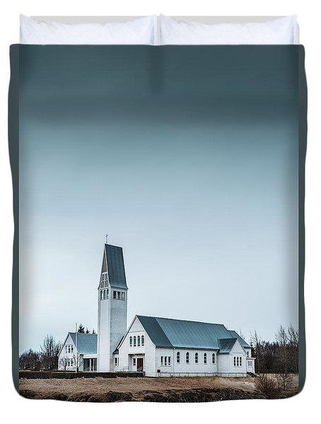 Mercy Is Song Duvet Cover