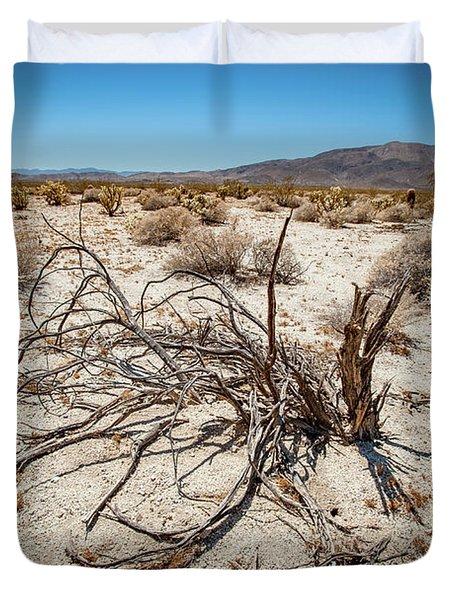 Mesquite In The Desert Sun Duvet Cover
