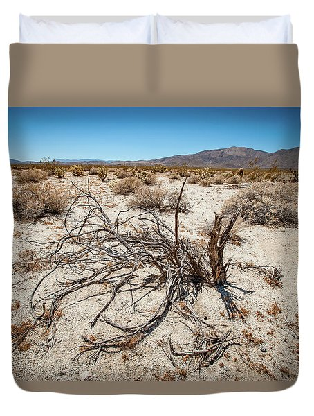 Mesquite In The Desert Sun Duvet Cover