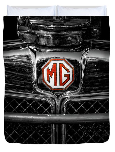 Mg Grill Badge Duvet Cover