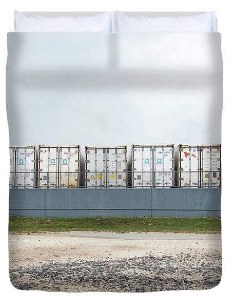Miami Topographics 15 Duvet Cover