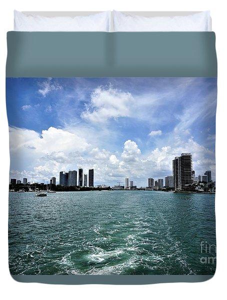 Miami2 Duvet Cover
