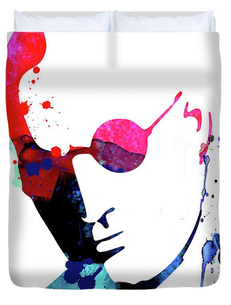 Mickey Watercolor Duvet Cover
