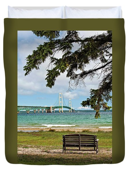 Mighty Mac Duvet Cover