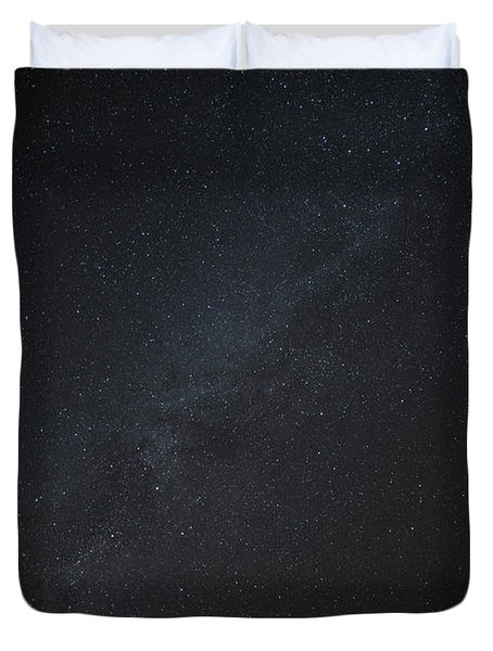 Milky Way Desert Sky Duvet Cover
