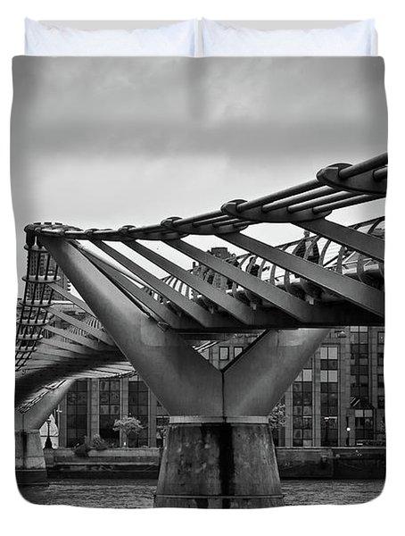 Millennium Bridge 01 Duvet Cover
