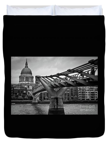 Millennium Bridge 01 Duvet Cover