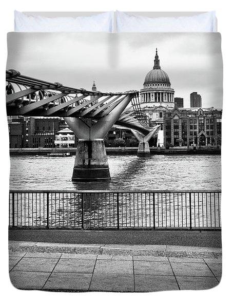 millennium Bridge 02 Duvet Cover