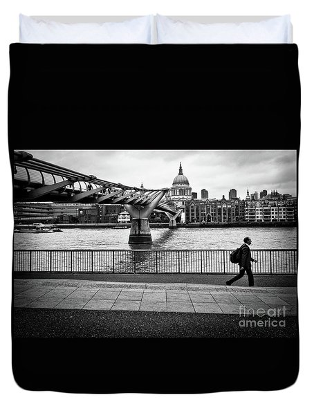 millennium Bridge 02 Duvet Cover