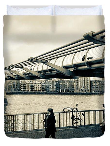 Millennium Bridge 03 Duvet Cover