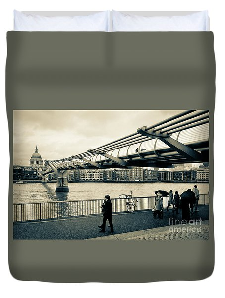 Millennium Bridge 03 Duvet Cover