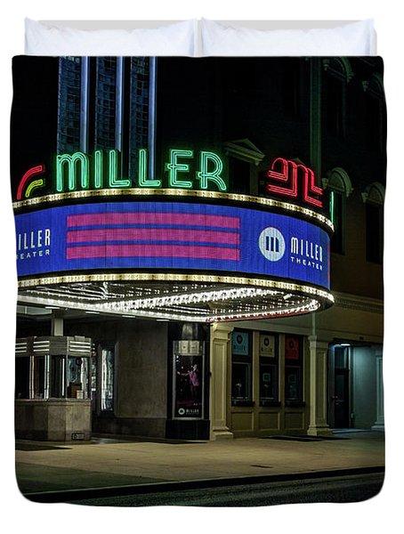 Miller Theater Augusta Ga Duvet Cover