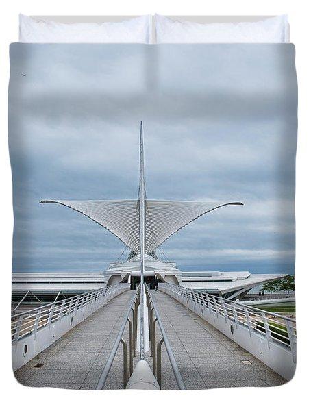 Milwaukee Art Museum Duvet Cover