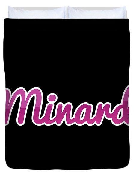 Minard #minard Duvet Cover