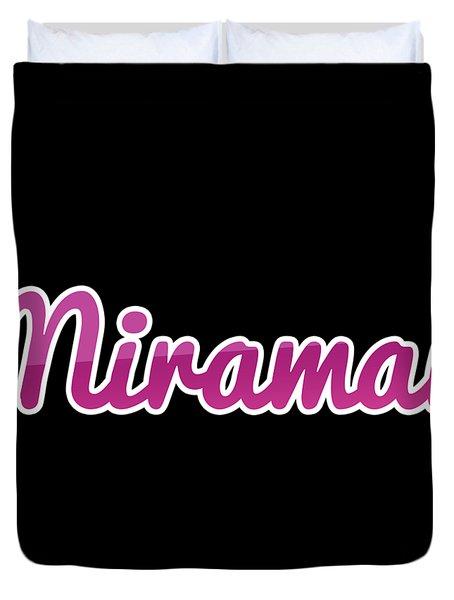 Miramar #miramar Duvet Cover