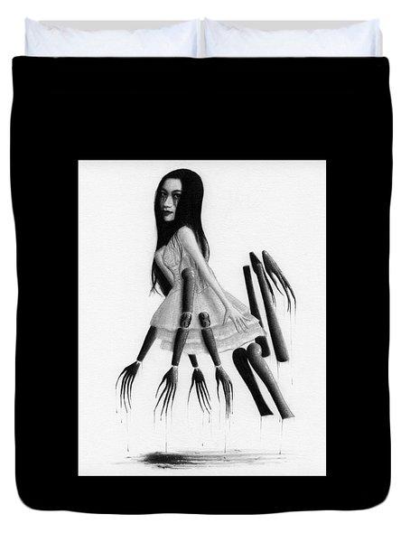 Misaki - Artwork Duvet Cover