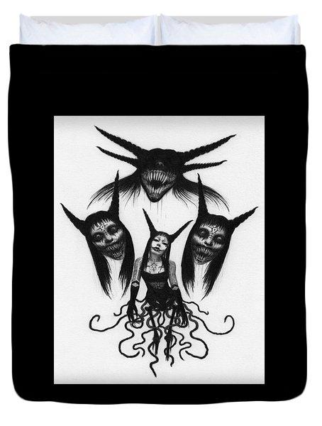 Miss Carnivorous - Artwork Duvet Cover