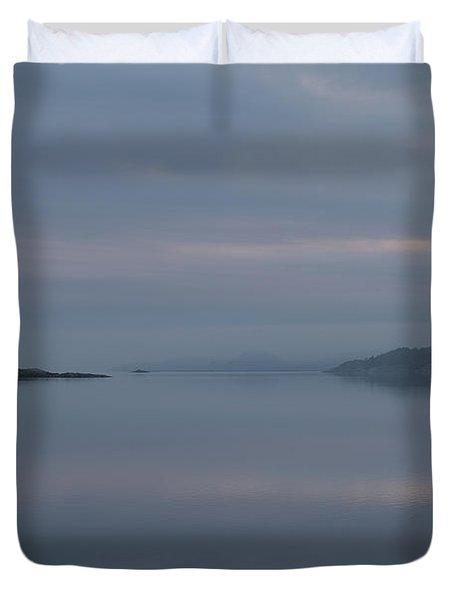Misty Day Duvet Cover