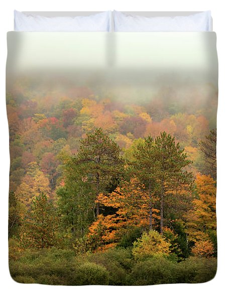 Misty Mountain Duvet Cover