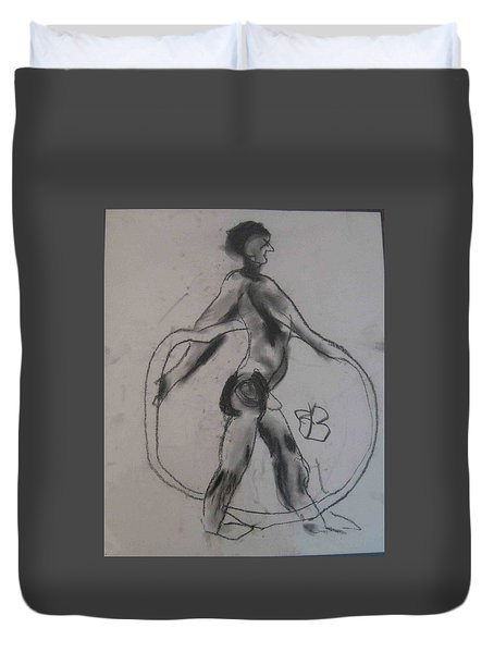 model named Guy Duvet Cover
