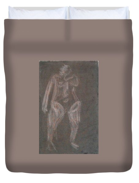 Model Named Helene Four Duvet Cover