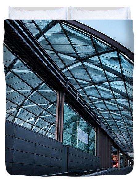Modern Architecture Shell Duvet Cover