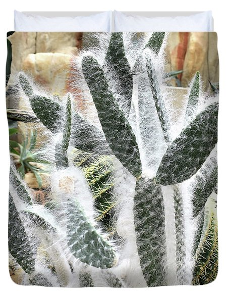 Mojave Prickly Pear Duvet Cover