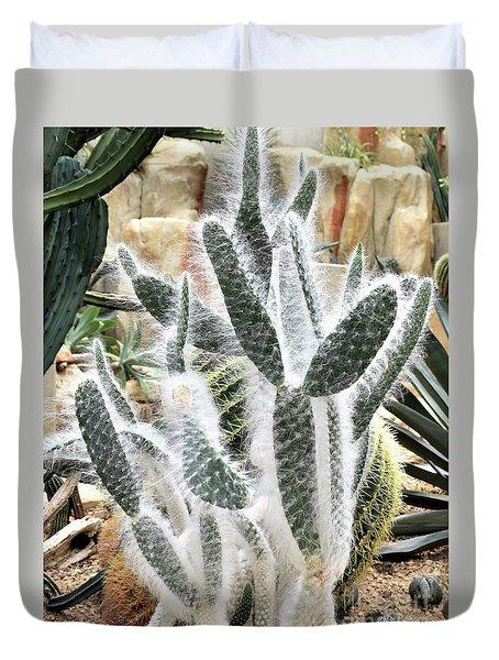Mojave Prickly Pear Duvet Cover