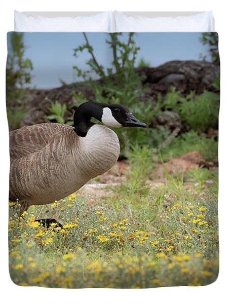 Momma Goose  Duvet Cover