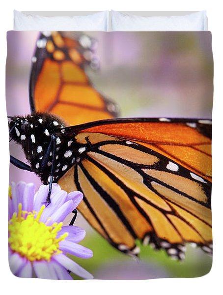 Monarch Close-up Duvet Cover