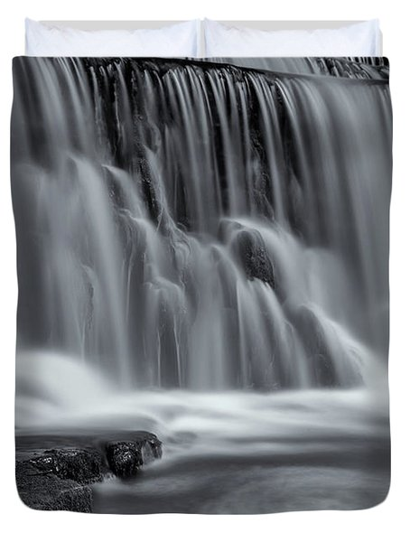 Monsal Dale Weir Duvet Cover