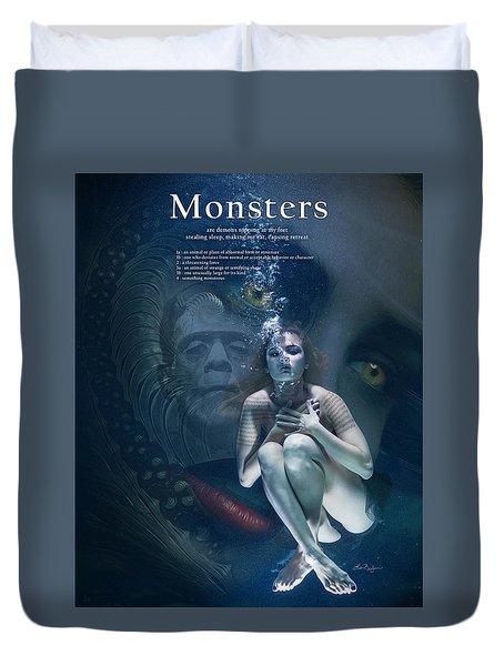 Monsters Duvet Cover
