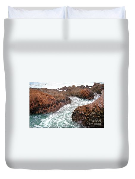 Montana Jagged Rocks Duvet Cover