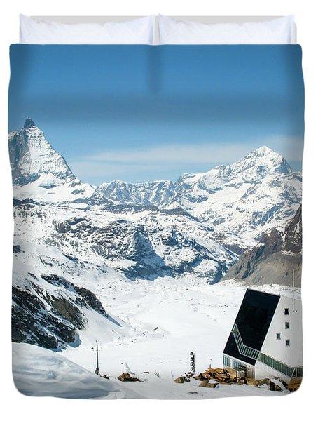Monte Rosa Duvet Cover