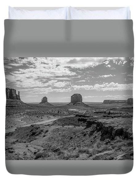 Monument Valley View Duvet Cover