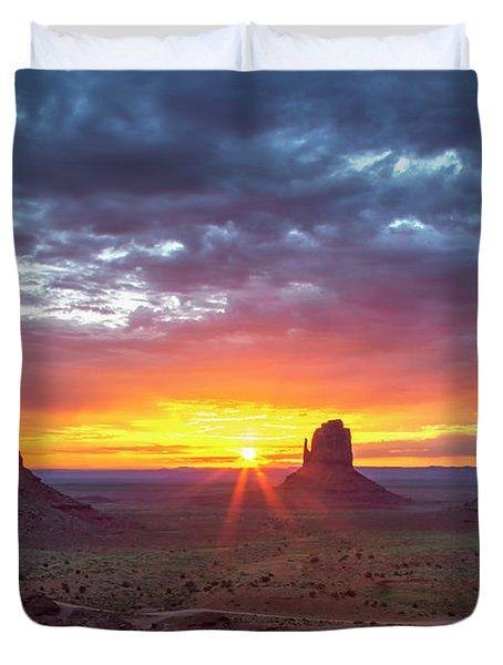 Monumental Morning  Duvet Cover