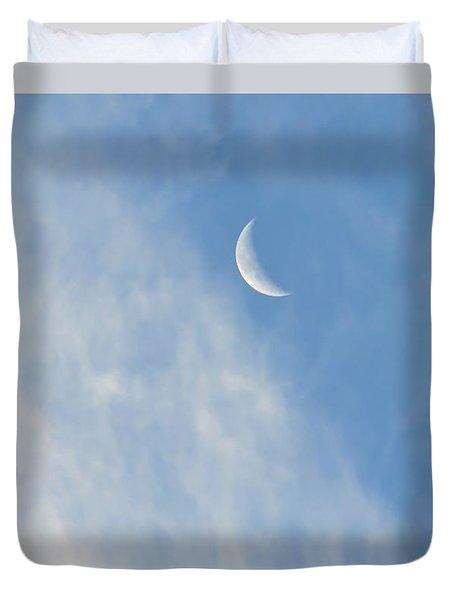 Moon In Libra - Crescent Farewell Duvet Cover